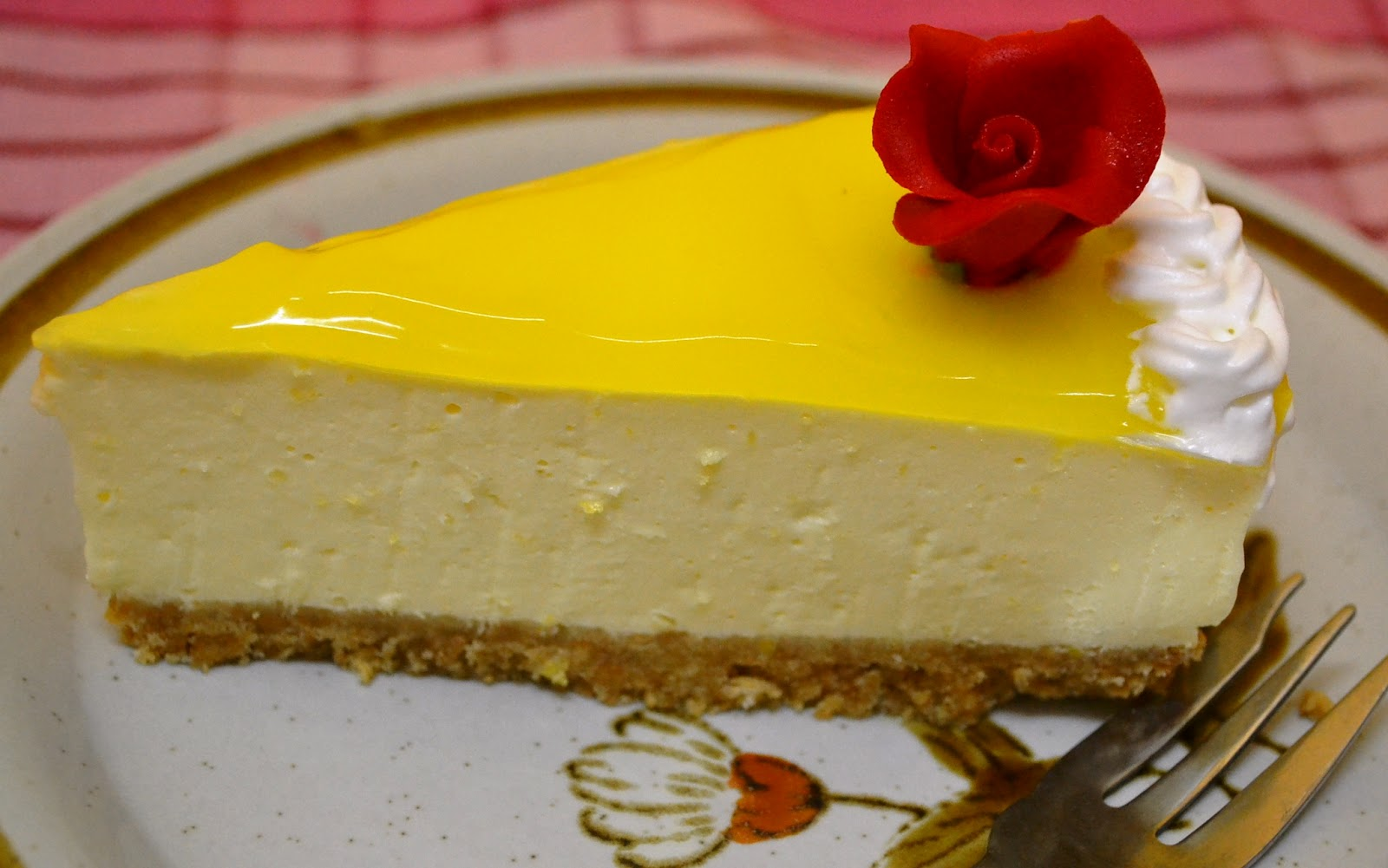 Food@Home Sweet Home: Lemon Curd Cheesecake (Unbaked ...