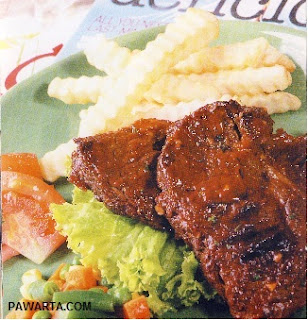 Resep Cara Membuat Steak Daging Sapi ala Waroeng Steak
