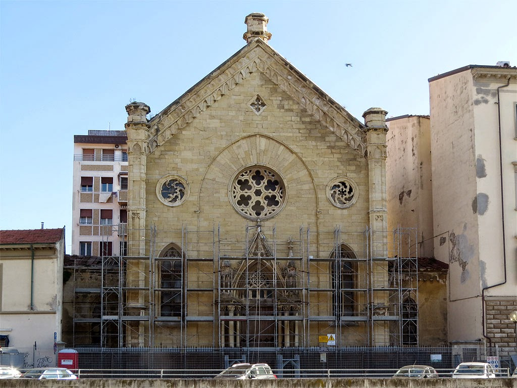 Dutch church, chiesa degli olandesi, scali degli Olandesi, Livorno