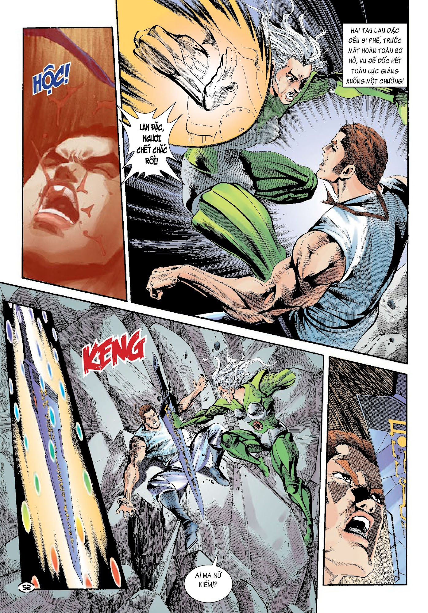 Đại Kiếm Sư Chap 32 - Trang 16
