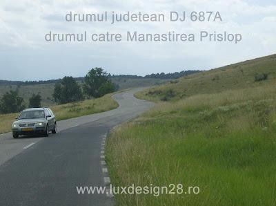 Drumul judeten DJ687A - judetul Hunedoara