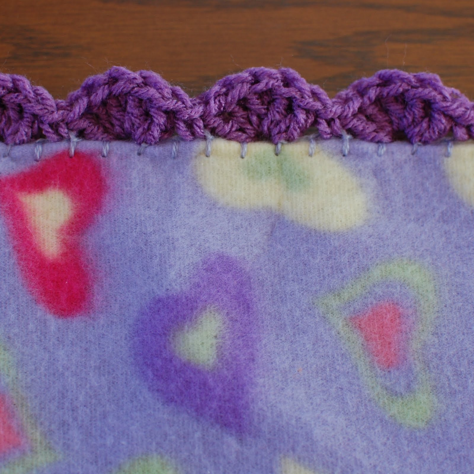 Quick and easy crocheted blanket edging patterns petals to picots crochet shell border pattern bankloansurffo Images