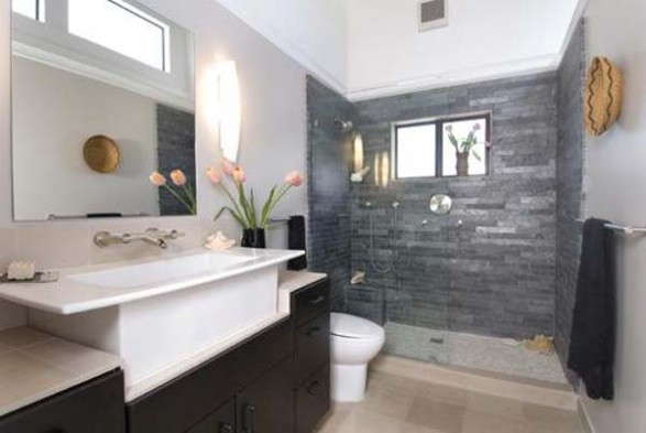 The ba os y muebles hermosos dise os de ba os modernos y Diseno de interiores de banos modernos