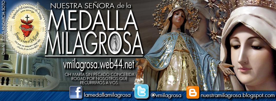 La Virgen de La Medalla Milagrosa. - Nuestra Señora de La Medalla Milagrosa