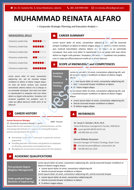 it resume template word 2010