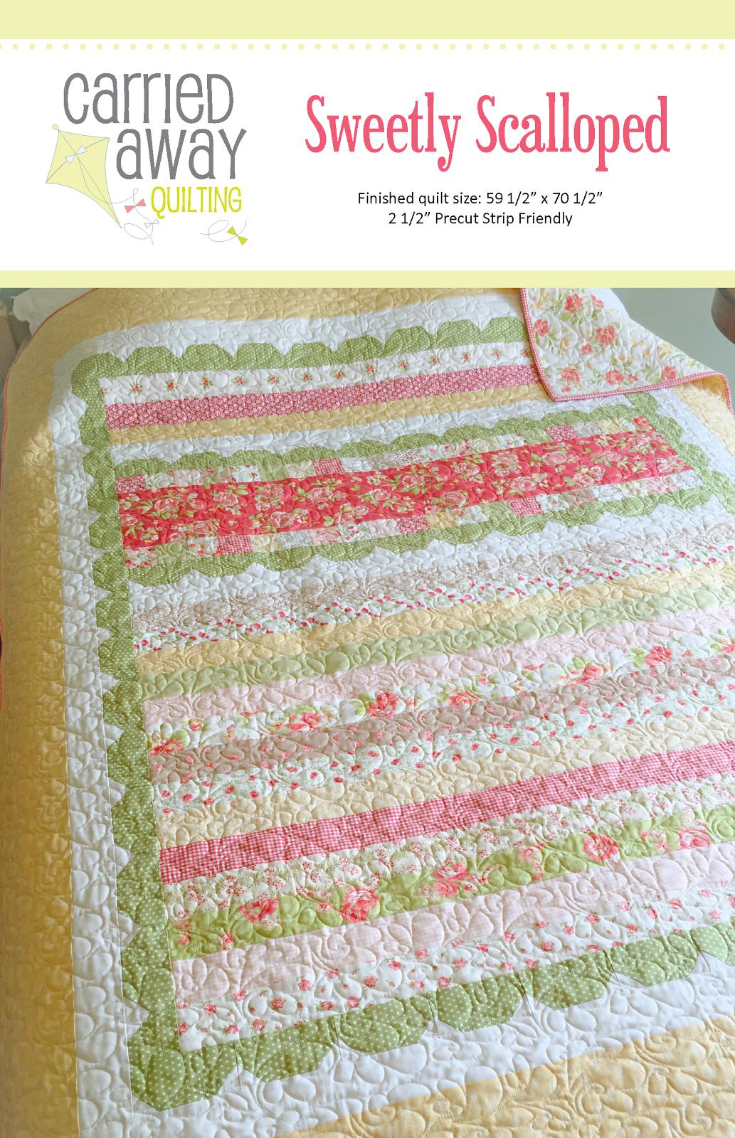 New Pattern: Sweetly Scalloped