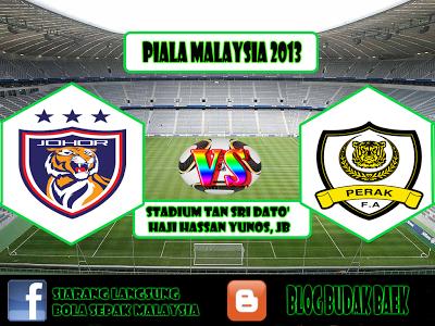 Live Streaming Johor Darul Takzim vs Perak 25 Januari 2013 - PIALA FA