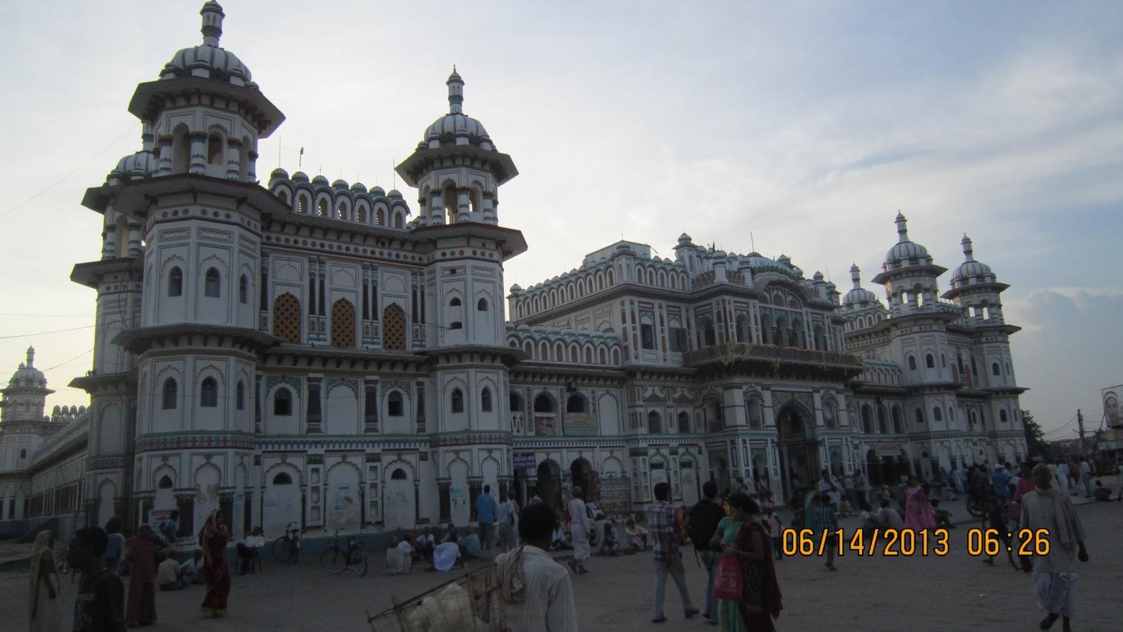 Janakpur Nepal  City new picture : Beautiful Nepal : Janki Temple Mandir Janakpur Nepal