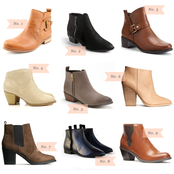 Über Chic for Cheap: Must Have: Ankle Boots