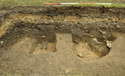 Medieval burial site unearthed at Clare Castle