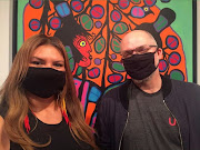 Daina Warren & Derek Brueckner Eat Your Art & Vegetables - Arts Talk Radio co-hosts on CKUW 95.9FM