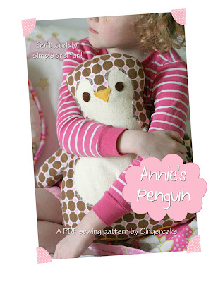 Ginger Cake Patterns And Design : Gingercake s Penguin Pillow review