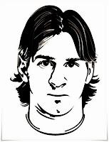 Mewarnai Gambar Lionel Messi