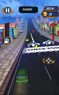 Screenshots of the Road rage: Combat racing for Android tablet, phone.