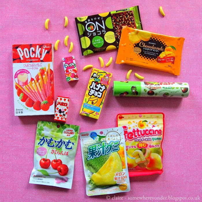 Japanese sweets, candy, chocolate