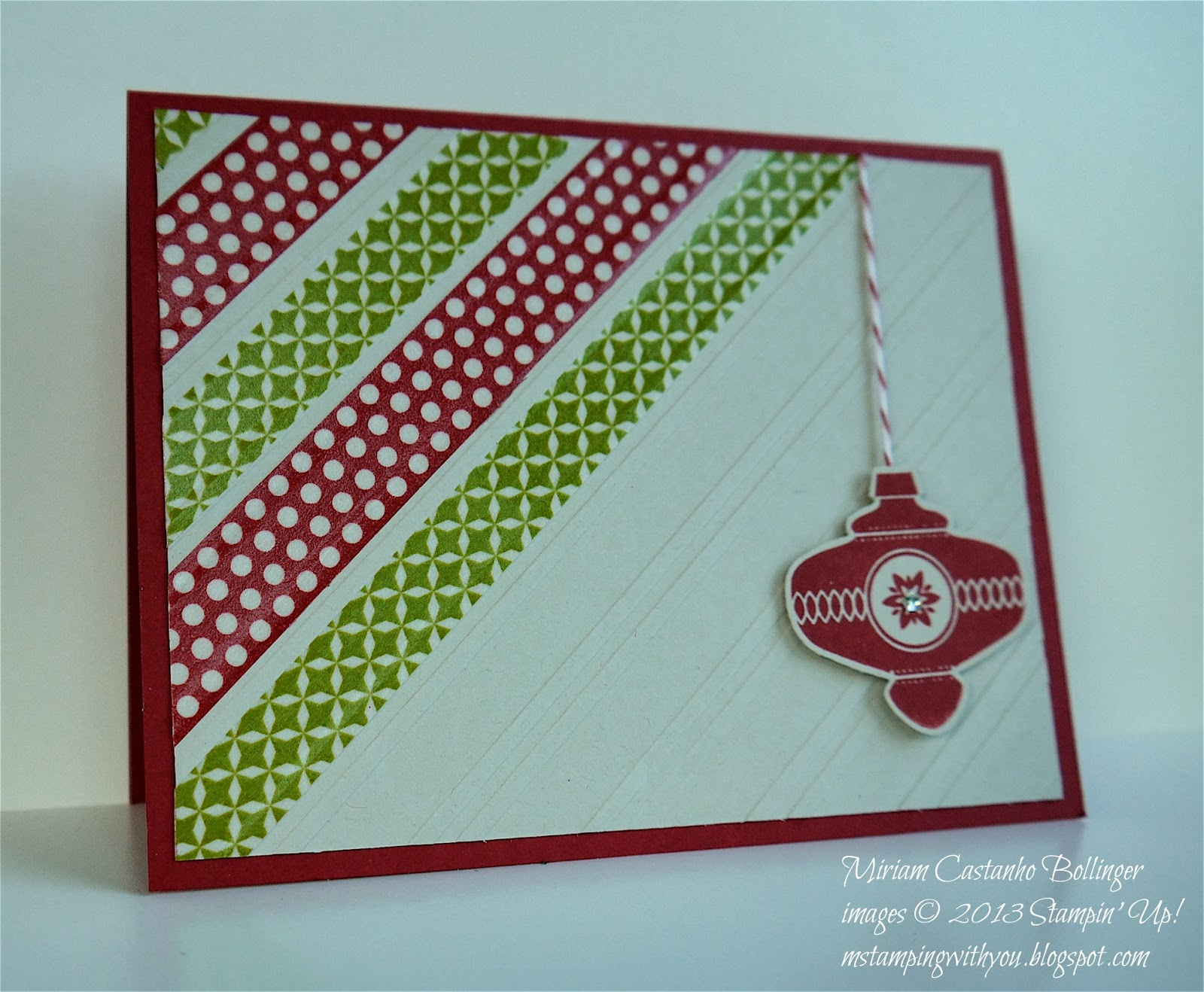 M Stampin With You Christmas Count Down 4 Of 8