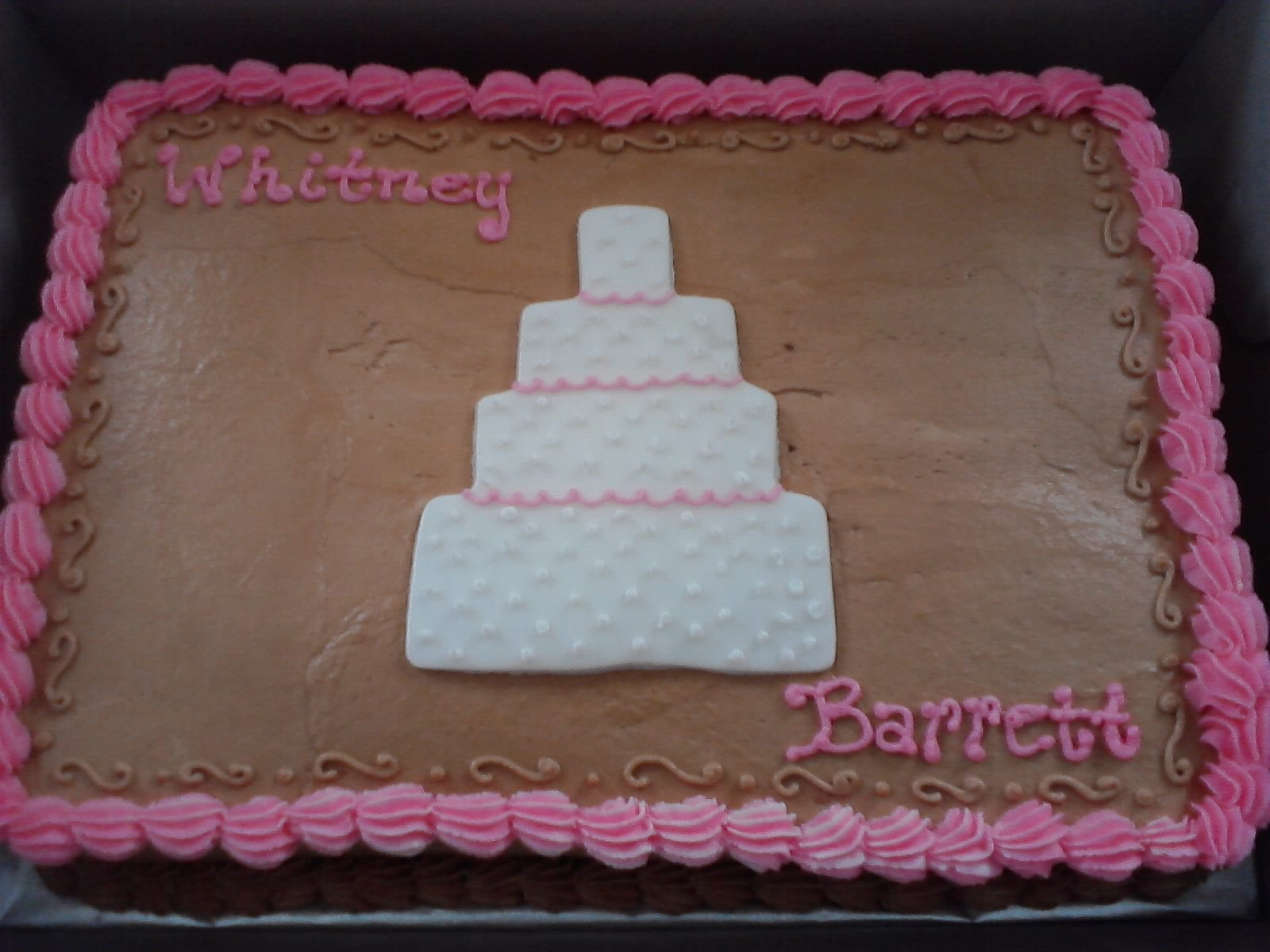 Inspired By Him Cakes Wedding Cake Bridal Shower Cake