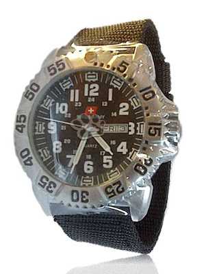 Swiss Army Luminox Canvas Date Original Spesifikasi Jam