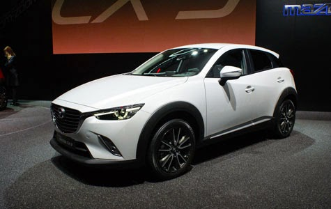 Mazda CX-3 Ready Comes With A Dozen Types