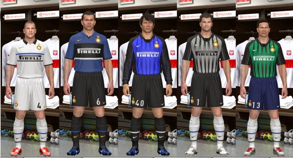 PES 2014 Inter Milan 1998-1999 GDB Kits by Olmajti