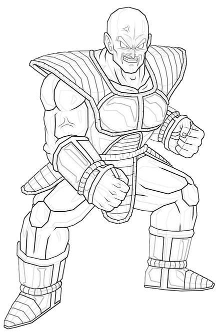 nappa-strong-coloring-pages
