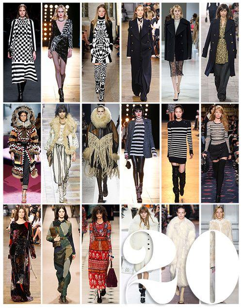 Tendências moda outono-inverno 2015-2016