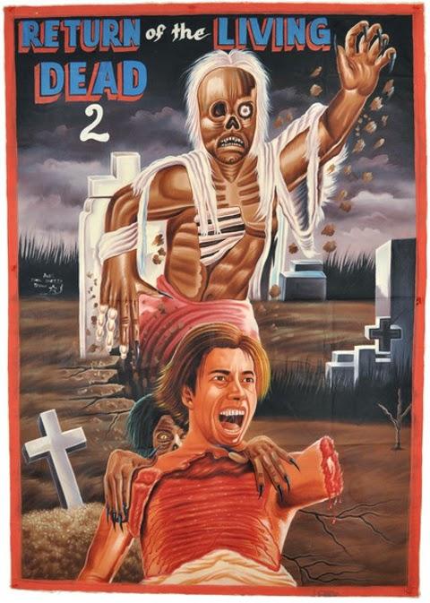 El Regreso de Los Muertos Vivientes poster