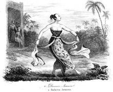Java Indonesia-Bailarina Ronguen