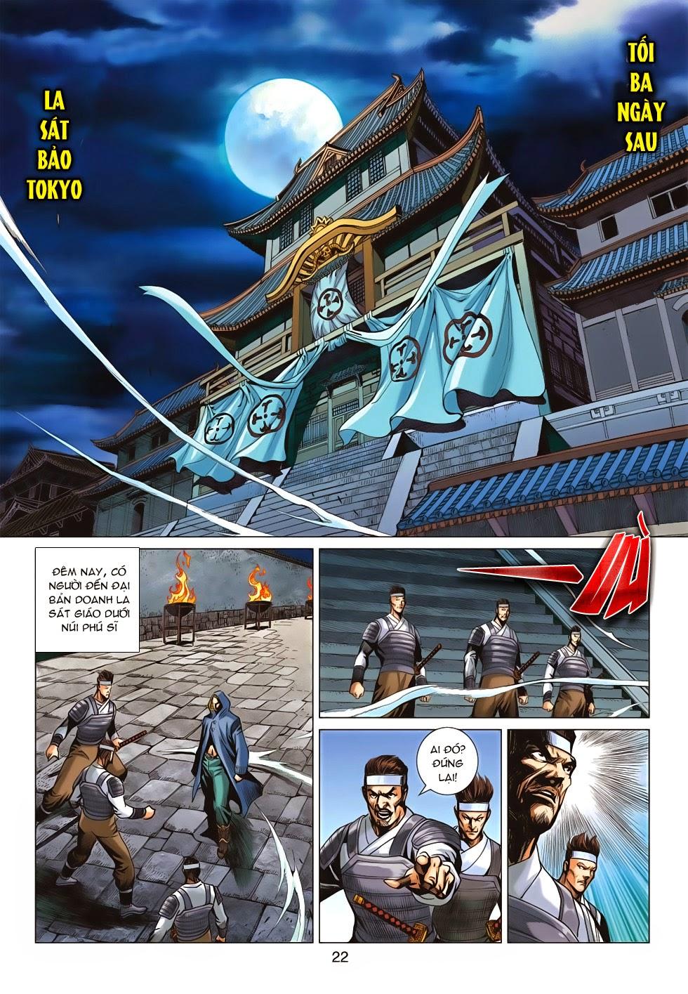 Tân Tác Long Hổ Môn chap 675 - Trang 21