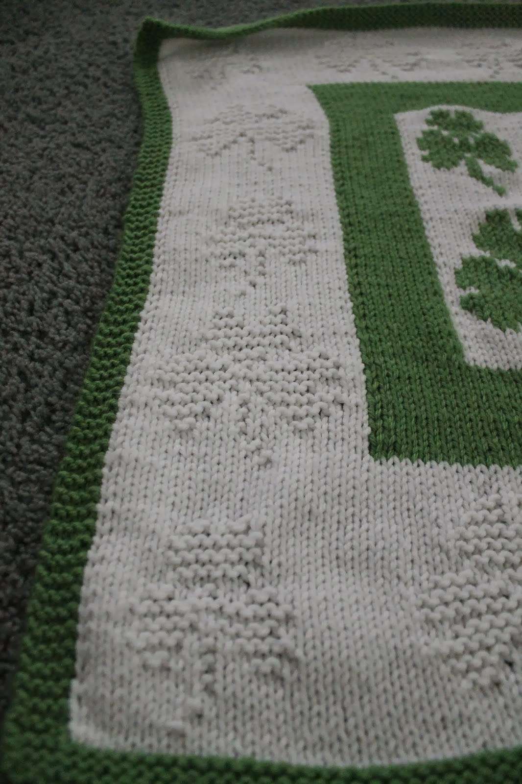 Adaly Myles Place: FO Luck of the Irish Blanket