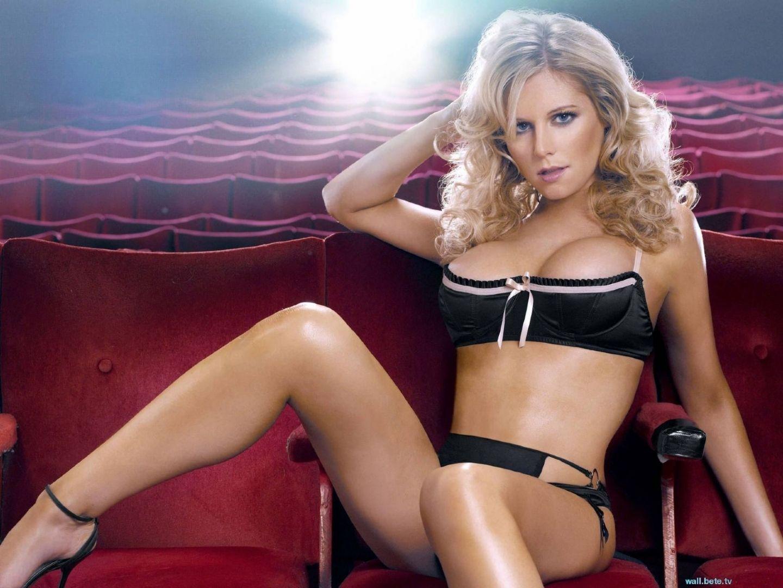Abi Titmuss rolls back the years in barely-there bikini