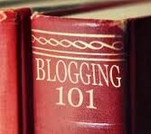 book with blogging101 on it