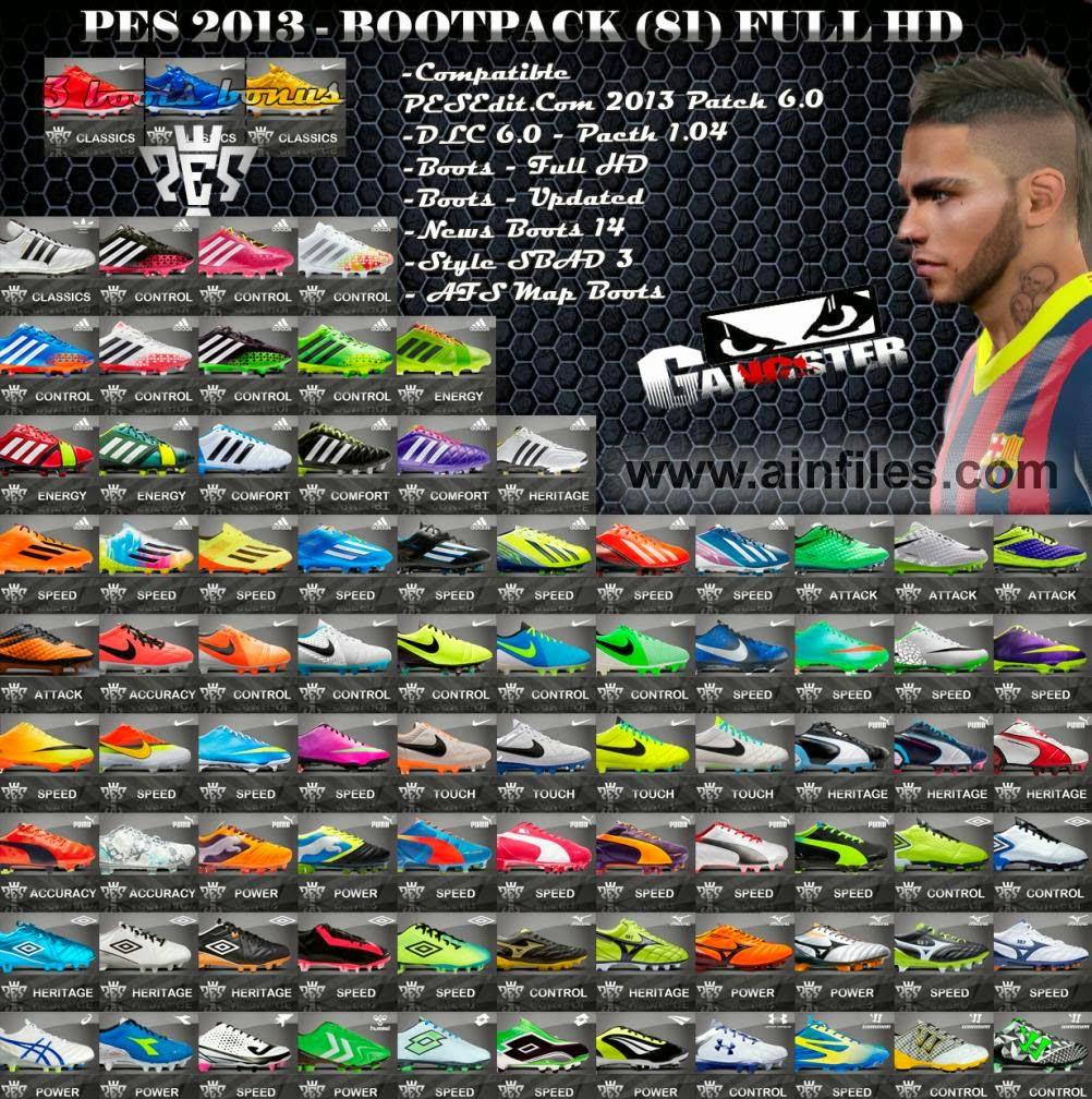 Download Path PES 2013 Update Ball dan Boot