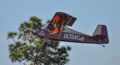 Ultralight airplane.