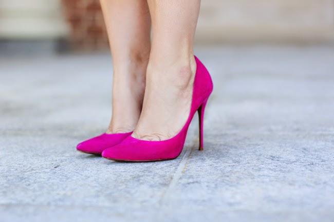 schutz brazil pink pumps