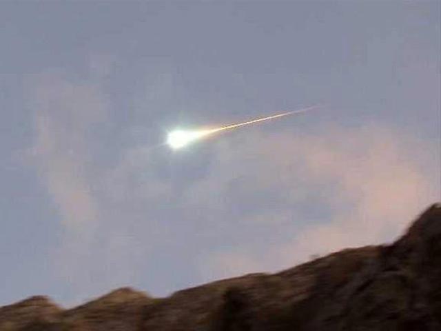 Extraño Objeto Luminoso Cae en Chile
