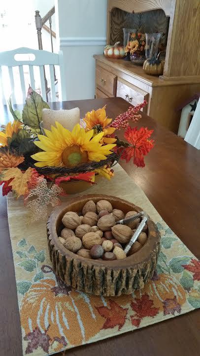 Vintage Nut Bowl