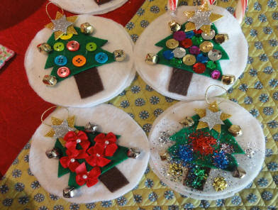 Misc. homemade ornaments 1