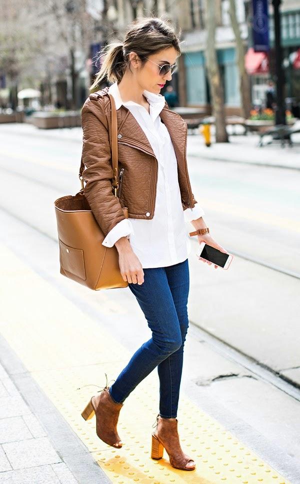 Jeans com camisa branca Gosto Disto!