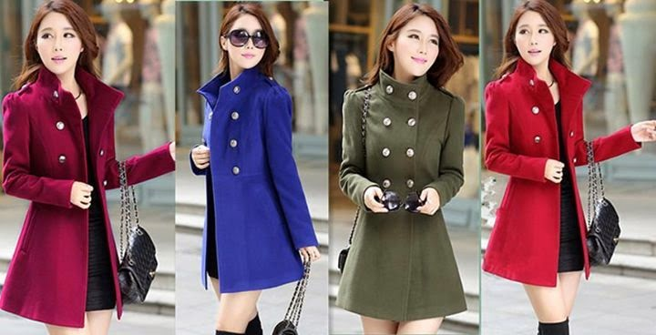 New Winter Coats For Modern Girls 2015 By Dream Wear - Fashion ...