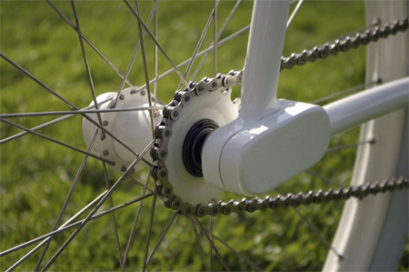 Forkless Bike termasuk sepeda Fixed Gear lho.