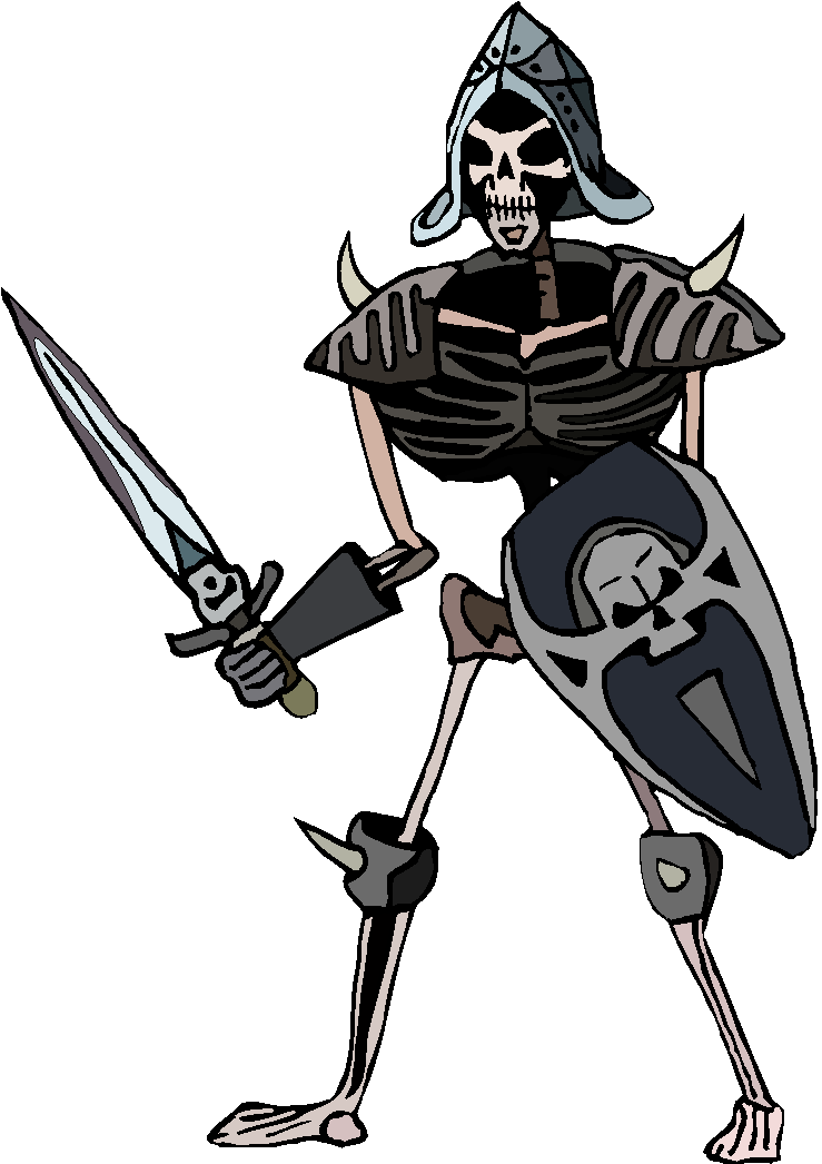 Skeleton Army Free Clipart