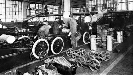 Primera Cadena de Montaje de Ford Motor Company