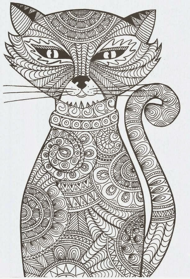 coloriages Le chat Potté Coloriez  - Coloriage Chats À Imprimer