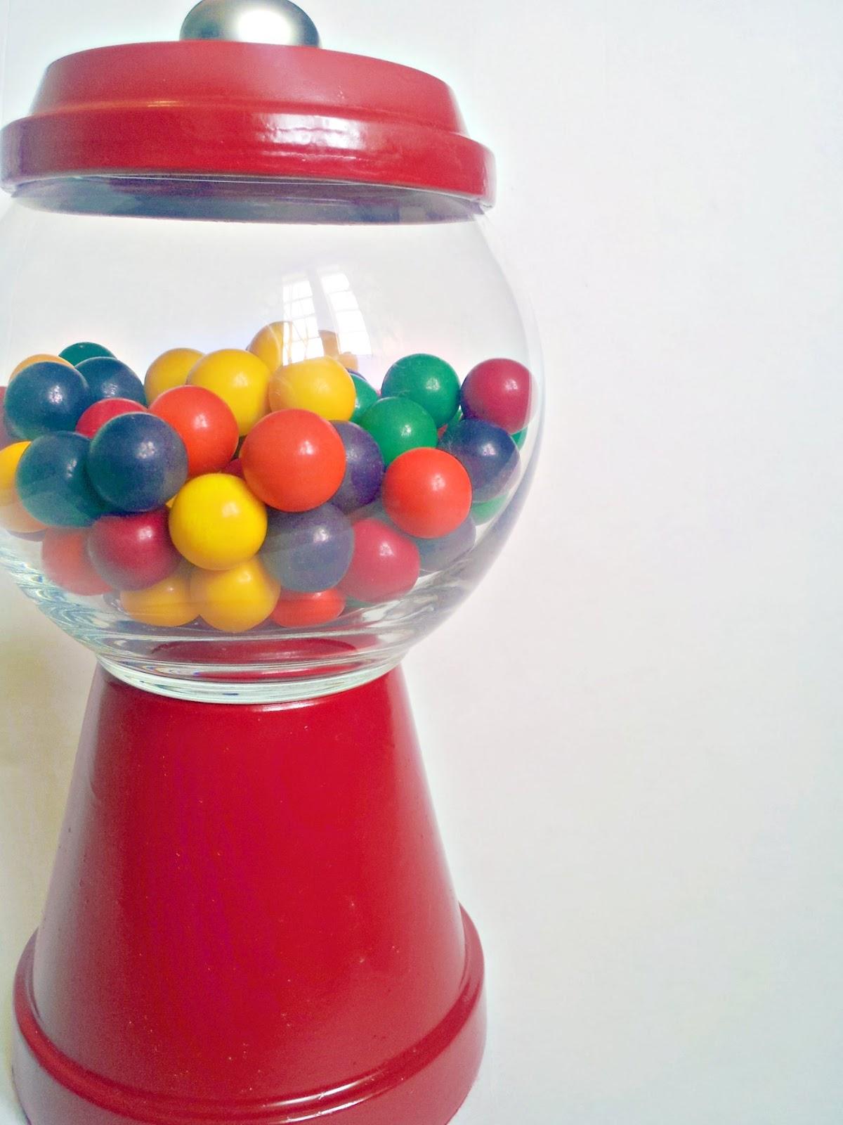 "twenty8divine: DIY Gumball ""Machine"""