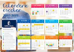 CALENDARIO ESCOLAR CURSO 18-19