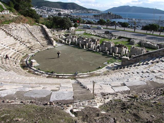 Turquía, teatro de Bodrum