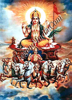 Surya-Narayana: Vishnu, the sun-god