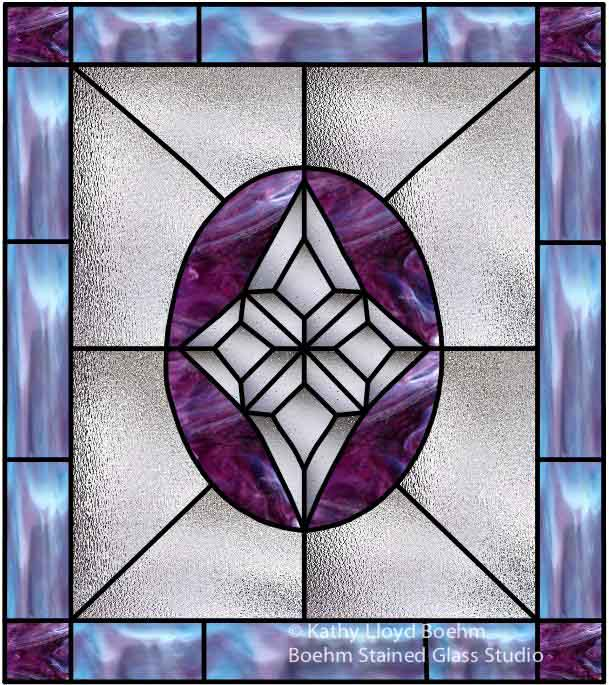 Boehm Stained Glass Blog Custom Stained Glass Window For Door Insert