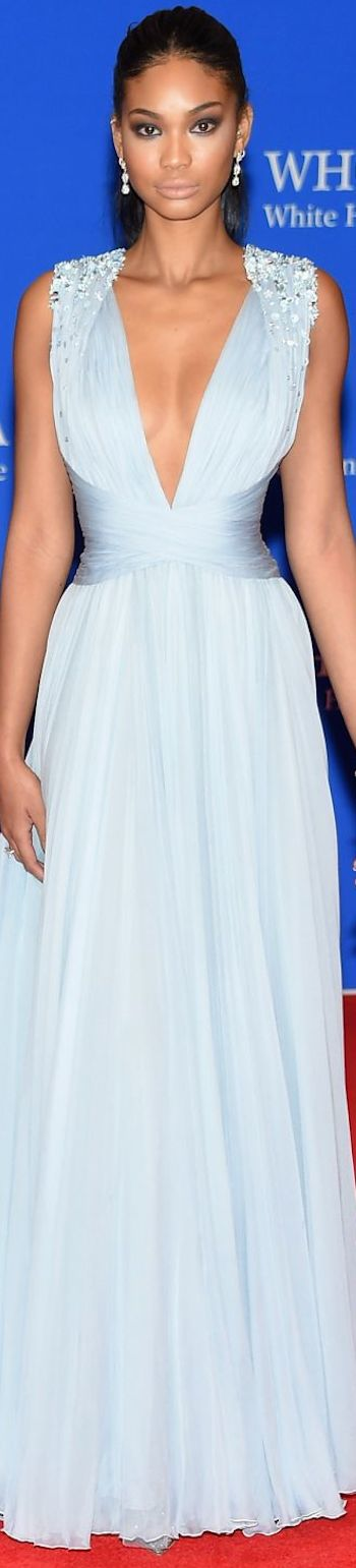 CHANEL IMAN 2015 WHITE HOUSE CORRESPONDENTS' DINNER